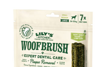 snack naturali per cani woofbrush lily's kitchen